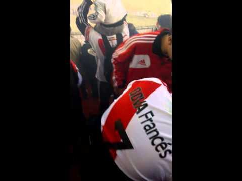 Recibimiento de river vs independiente del valle - Los Borrachos del Tablón - River Plate