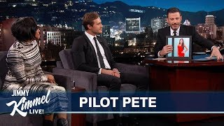 Jimmy Kimmel Predicts The Bachelor Winner with Pilot Pete