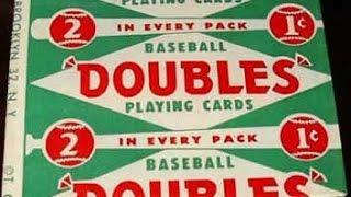 1951 Topps Red Backs Wax Pack Break