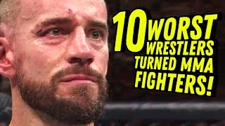 Video 10 WORST WRESTLERS TURNED MMA FIGHTERS! Going in Raw Countout Podcast MP3, 3GP, MP4, WEBM, AVI, FLV Juni 2018