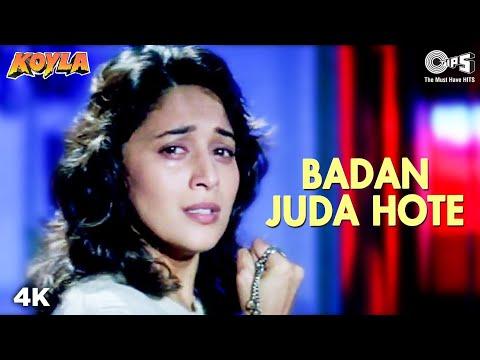 Badan Juda Hote | Madhuri Dixit | Shahrukh Khan | Kumar Sanu | Preeti Singh | Koyla | 90's Song