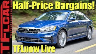 Video Worst Car Investments: Top 10 Cars That Depreciate Like Rocks - TFLnow Live #30 MP3, 3GP, MP4, WEBM, AVI, FLV Juni 2019