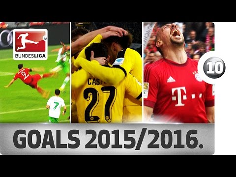 Top 10 Goals 2015/16 - This Season's Most Spectacular Strikes
