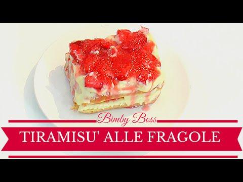 video ricetta: bimby - tiramisù alle fragole.