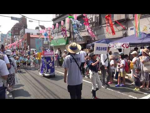 清島幼稚園七夕仮装行列/下町七夕まつり2017