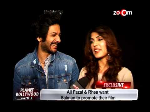 Ali Fazal and Rhea Chakraborthy want Salman Khan to promote 'Sonali Ca...
