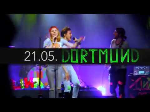 Ich gehe auf TOUR: http://bit.ly/GLITZER_DELUXE_TOUR_2017 LINA - GLITZER DELUXE TOUR 2017 Präsentiert von BRAVO 21.05.2017 Dortmund| FZW ...