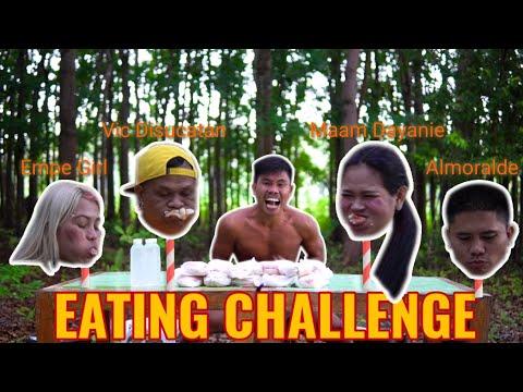 Mukbang Burger (Eating Challenge) ang manalo my premyo | Boy Tapang 🍔🍔