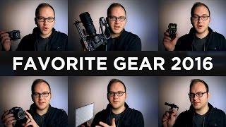 Equipamentos de 2016 favoritos na opinião de DSLR Video Shooter.