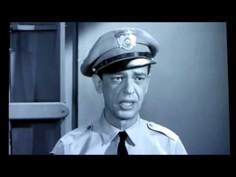 Don Knotts LAST scene as Deputy Barney Fife on The Andy Griffith Shoiw