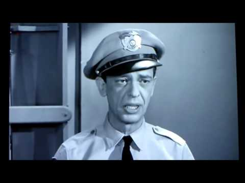 Don Knotts LAST Scene As Deputy Barney Fife On The Andy Griffith Shoiw