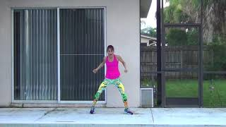 Tiffany Callaghan licensed zumba instructor performs Ay Mi Dios by Pitbull and Yandel. Reggeaton/flamenco. I do not own the ...