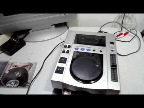 Test lettore CD  da DJ