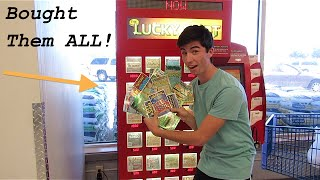 Video BUYING ALL THE LOTTERY TICKETS IN THE LOTTERY MACHINE!!!! MP3, 3GP, MP4, WEBM, AVI, FLV Oktober 2018