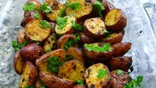 This side dish is perfect to go along your Xmas dinner! Give it a try and you will be pleasantly surprised!!! Enjoy! 1 ½ - 2 lb. Small Red Potatoes 1 TB Minced ...