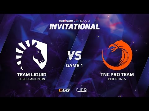 Team Liquid vs TNC Pro Team, Game 1, SL i-League Invitational S2 LAN-Final, Grand-Final