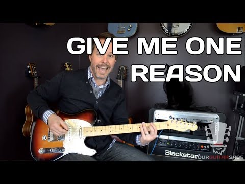 Give Me One Reason Tracy Chapman Guitar Lesson With Erich Andreas