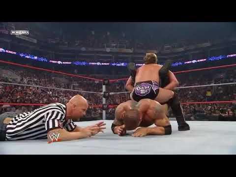 WWE Chris Jericho vs Batista with Referees Stone Cols Steve Austin, Shawn Mitchael and Randy Orton