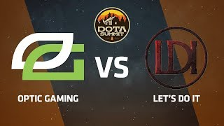 OpTic Gaming против Let's Do It, Вторая карта, DOTA Summit 9 LAN-Final