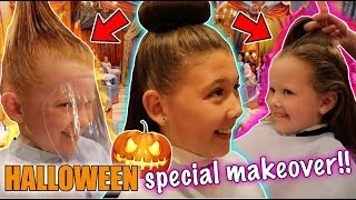 Video A SPECIAL HALLOWEEN DISNEY MAKEOVER! - BIBBIDI BOBBIDI BOUTIQUE - DISNEY FLORIDA 2017 DAY 15! MP3, 3GP, MP4, WEBM, AVI, FLV Maret 2019