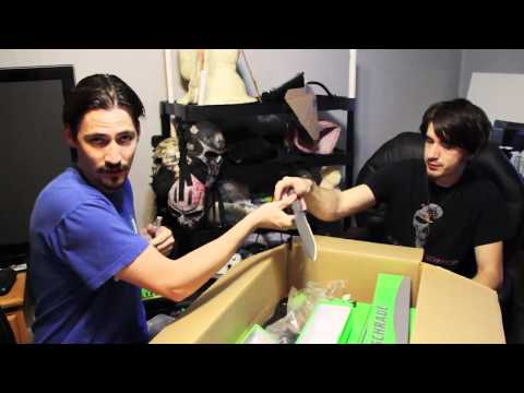 EPIC ZOMBIE KNIFE UNBOXING!!! How to make a million dollars!