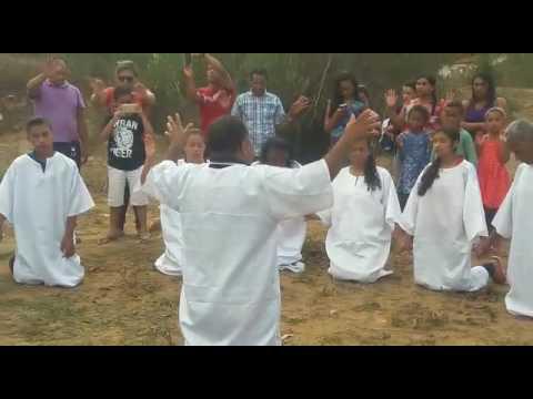 Batismo em Ribeirão do Largo Igreja Quadrangular