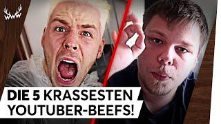 Video Die 5 KRASSESTEN YouTuber-Beefs! | TOP 5 MP3, 3GP, MP4, WEBM, AVI, FLV Mei 2018