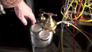 This is the first in the series on refrigerant leak detection. The pressure test. This video is part of the heating and cooling series of training videos mad...