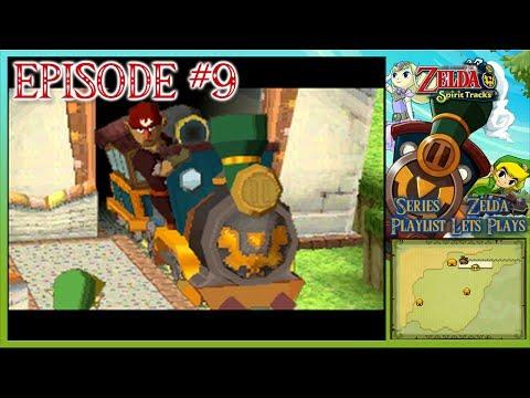 The Legend Of Zelda: Spirit Tracks - Cannons, Stamps, Rabbit Haven & A Snowy Lan… видео