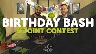 Birthday Bash & Joint Smoking Contest //  420 Science Club by 420 Science Club
