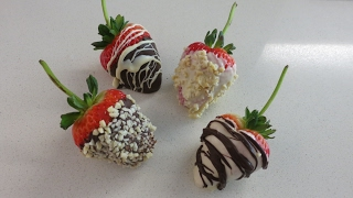Valentine's Day Chocolate StrawberriesFor more recipes:WEBSITE:www.dessertzhouse.comContact me through:FACEBOOK: http://www.facebook.com/DessertzHouseTWITTER: http://twitter.com/DessertzHouseE-MAIL: DessertzHouse@gmail.comxoxoDessertzHouse