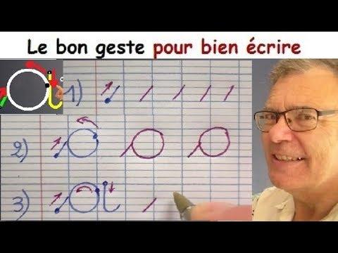 Ecriture française gs cp ce1 : Comment bien écrire la lettre a # 1