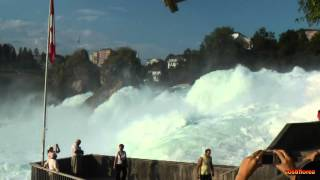 Schaffhausen Switzerland  City pictures : Rhine Falls Schaffhausen - Switzerland - Travel video - HD