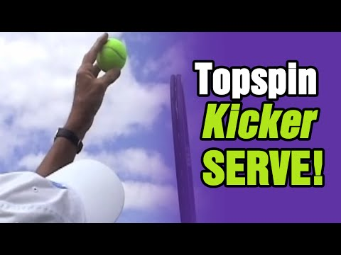 Tennis Lessons – Master The Topspin (Kick) Serve | Tom Avery Tennis 239.592.5920