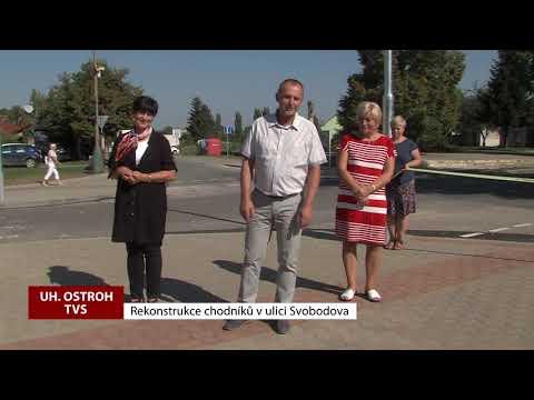 TVS: Uherský Ostroh - Rekonstrukce - Ulice Svobodova