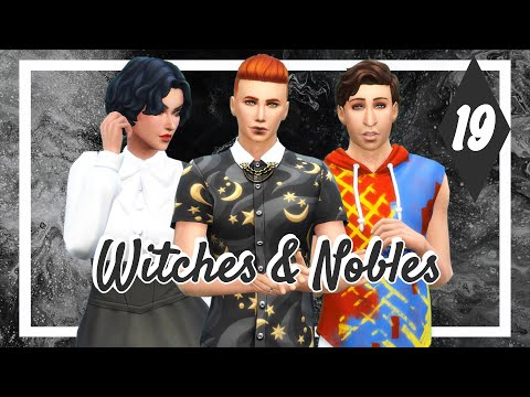 Magicbright Heir & Brokenfang! 🧙 EPISODE 19 | Witches & Nobles Challenge - The Sims 4