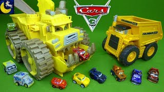 Video Disney Cars 3 Toys Spring Mini Racers Diecast Set Screaming Banshee Colossus XXL Truck Playset Toy! MP3, 3GP, MP4, WEBM, AVI, FLV Desember 2018