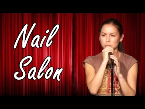 Johnson - Stand up comic Anjelah Johnson does Stand up Comedy for Comedy Time. More videos at http://ComedyTime.tv To buy the single on iTunes. - Visit http://bit.ly/A...