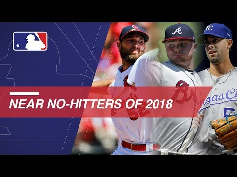 Video: Near no-hitters of 2018