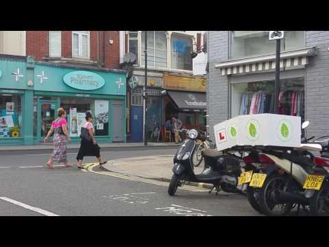 UK-London streets-Dancer Road-Fulham-SW6