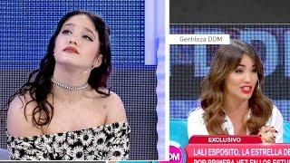 Video ¡Las caras de Ángela Torres al escuchar a Lali Espósito! MP3, 3GP, MP4, WEBM, AVI, FLV Oktober 2017