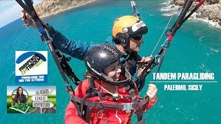 Tandem Paragliding in Palermo, Sicily | Parapendio In Tandem Sicilia