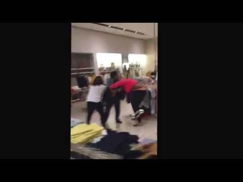 women fight