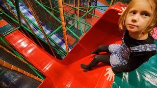Fun at Busfabriken Indoor Play Center (playground family fun for kids) #1
