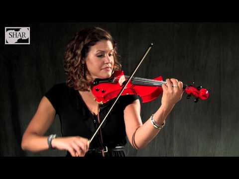 Video - SHAR Electric Violin Outfit with Amp | SEVTS