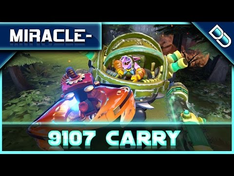 MIracle- Timbersaw Carry 9107 MMR