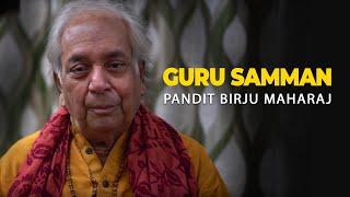 Guru Samman - Pandit Birju Maharaj - Indradhanush Dilli 2016