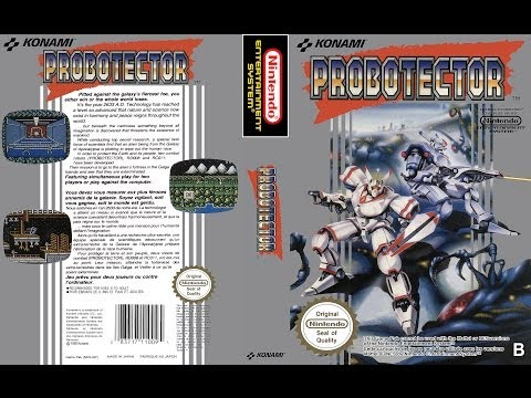 Probotector NES aka Contra NES - NO DEATH (Ultra HD 4k)