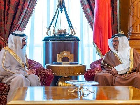 HRH the Crown Prince receives outgoing Saudi Ambassador to Bahrain