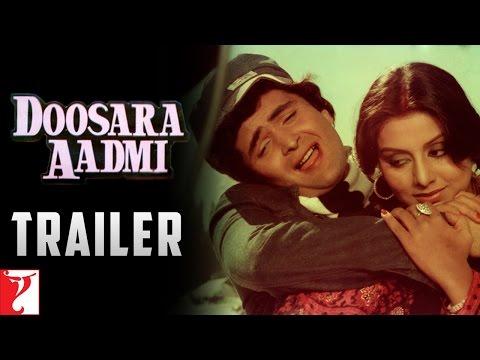 Doosara Aadmi | Official Trailer | Rishi Kapoor, Neetu, Rakhee | Ramesh Talwar | Old Movie Trailer
